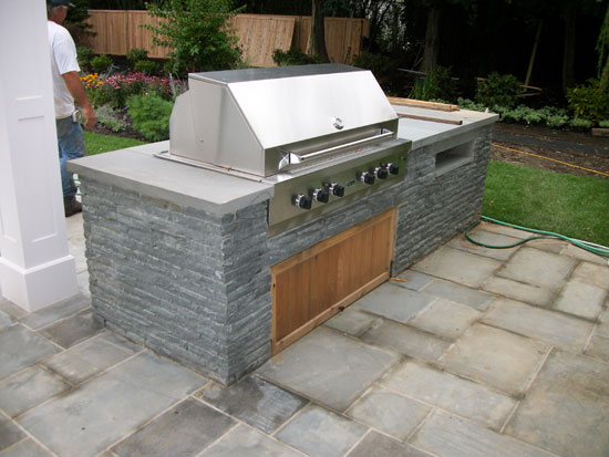 Southampton outdoor bbq grilling kitchen contractors for Outdoor cooking station ideas